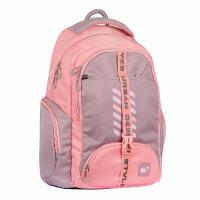 Рюкзак шкільний Yes T-120 Urban disign style серо-розовый Фото