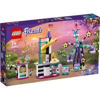 Конструктор LEGO Friends Волшебное колесо обозрения и горка 545 дет Фото