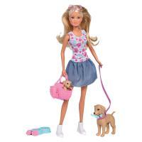 Кукла Simba Штеффи Прогулка семейки любимцев с аксессуарами Фото