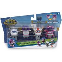 Игровой набор Super Wings Transform-a-bots, 4 фигурки-трансформеры, Диззи сп Фото