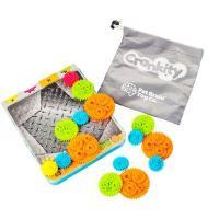 Ігровий набір Fat Brain Toys Разноцветные Шестеренки Crankity Фото