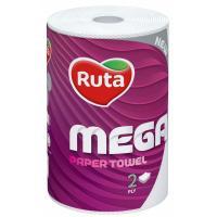 Паперові рушники Ruta Mega 2 слоя 1 шт. Фото