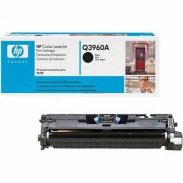 Картридж HP CLJ  122A для 2550 black (Q3960A) - фото 1