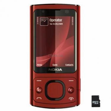 Мобільний телефон 6700 slider Red Nokia (002R9P6) - фото 1