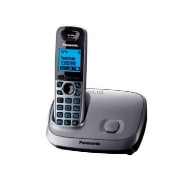 Телефон DECT PANASONIC KX-TG6511UAM - фото 1