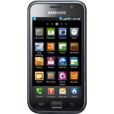 Мобильный телефон GT-I9000 (Galaxy S) Metallic Black Samsung (GT-I9000HKD) - фото 1