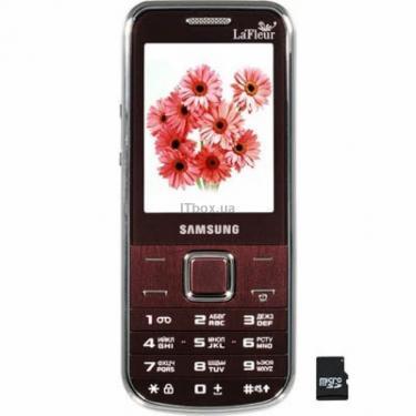 Мобільний телефон GT-C3530 Wine Red La Fleur Samsung (GT-C3530WRF) - фото 1