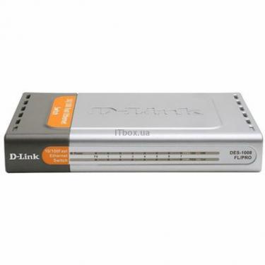 Комутатор мережевий D-Link DES-1008FL/PRO - фото 1
