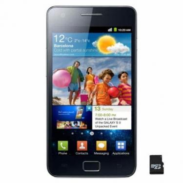 Мобільний телефон GT-I9100 (Galaxy S2) Noble Black Samsung (GT-I9100LKA) - фото 1