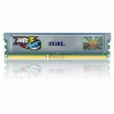 Модуль памяти для компьютера DDR3 4GB (2x2GB) 1600 MHz GEIL (GU34GB1600C7DC) - фото 1