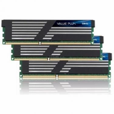 Модуль памяти для компьютера DDR3 6GB (3x2GB) 1600 MHz GEIL (GVP36GB1600C9TC) - фото 1