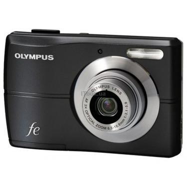 Цифровой фотоаппарат FE-26 cosmic black OLYMPUS (N3603692) - фото 1