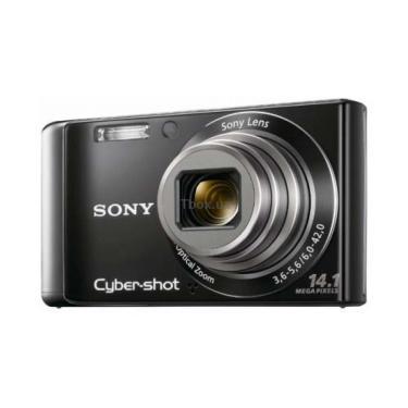 Цифровий фотоапарат Cybershot DSC-W350 black SONY (DSC-W350B) - фото 1