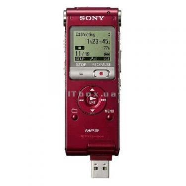 Цифровой диктофон ICD-UX200R red SONY (ICD-UX200R) - фото 2
