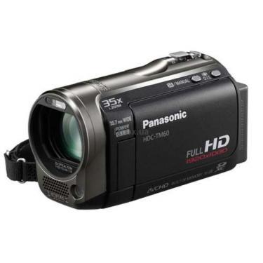 Цифровая видеокамера HDC-TM60EE-K black PANASONIC (HDC-TM60EE-K) - фото 1