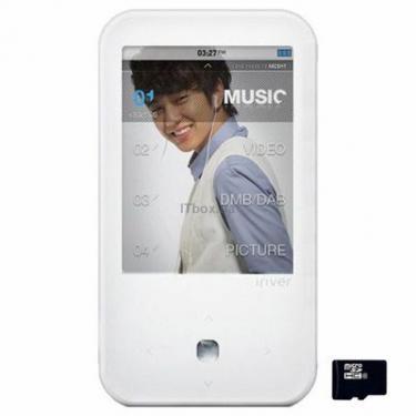 mp3 плеер iRiver S100 4GB White (3S01003C-RUWEN1) - фото 1