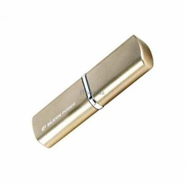USB флеш накопитель 16Gb LuxMini 720 gold Silicon Power (SP016GBUF2720V1G) - фото 1