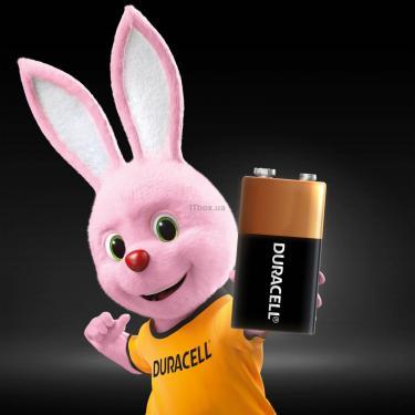 Батарейка Duracell Крона 9V * 1 (5000394066267 / 81483681) - фото 3