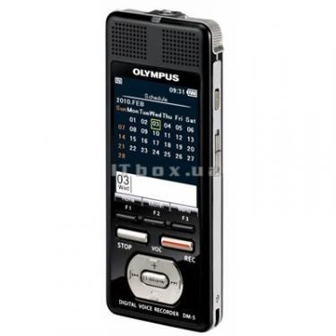 Цифровий диктофон OLYMPUS DM-5-E1 black (N2283721) - фото 2