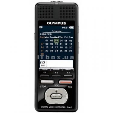 Цифровий диктофон OLYMPUS DM-5-E1 black (N2283721) - фото 1
