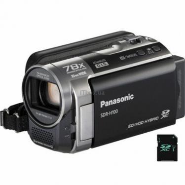 Цифровая видеокамера SDR-H100 black Panasonic (SDR-H100EE-K) - фото 1
