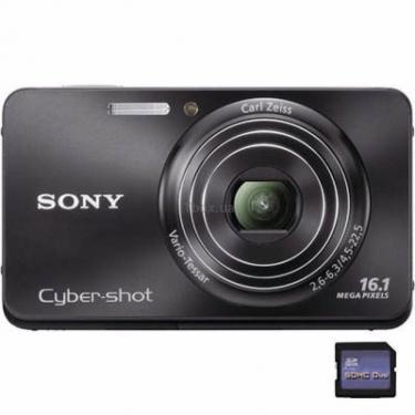 Цифровой фотоаппарат Cybershot DSC-W580 black Sony (DSCW580B) - фото 1