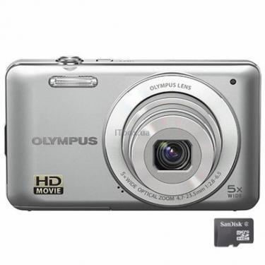 Цифровой фотоаппарат VG-120 silver Olympus (N4295792) - фото 1