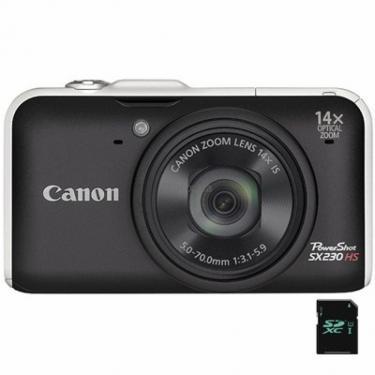 Цифровой фотоаппарат PowerShot SX230 HS black Canon (# SX230 HS balck #) - фото 1