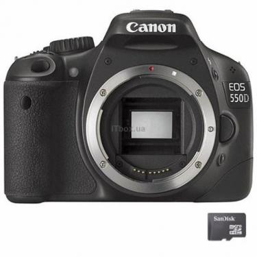 Цифровий фотоапарат EOS 550D body Canon (4463B056) - фото 1