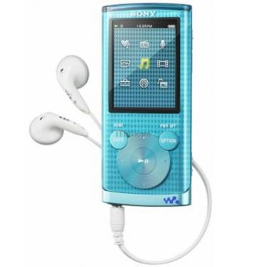 mp3 плеєр Walkman NWZ-E454 blue Sony (NWZE454L.CEV) - фото 1