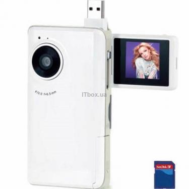 Цифрова відеокамера PVC-SG01 white Ergo - фото 1