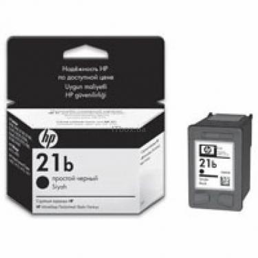 Картридж HP DJ No. 21 Black, simple (C9351BE) - фото 1