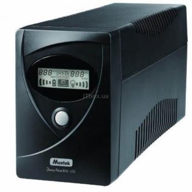 Источник бесперебойного питания PowerMust 848 LCD Mustek (98-LIC-L0848) - фото 1