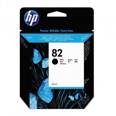 Картридж HP DJ No. 82 black (CH565A) - фото 1