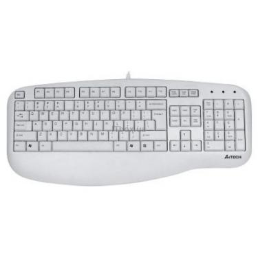 Клавиатура A4Tech KL-30-1-R (KL-30-1-R White PS/2) - фото 1