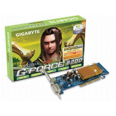 Відеокарта GeForce 6200 256Mb GIGABYTE (GV-N62256DP2-RH) - фото 1