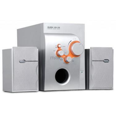 Акустична система MS-310 Silver 22Вт+2*7Вт SVEN (MS-310 Silver) - фото 1