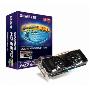 Відеокарта Radeon HD 5870 1024Mb UltraDurable GIGABYTE (GV-R587UD-1GD) - фото 1