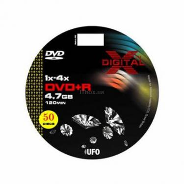 Диск DVD X-DIGITAL 4.7Gb 8X Bulk 50шт (XD-DV-D86470X50) - фото 1
