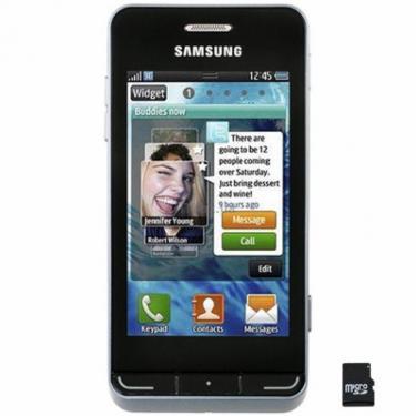 Мобільний телефон GT-S7230 (Wave723) Titan Gray Samsung (GT-S7230TAJ) - фото 1