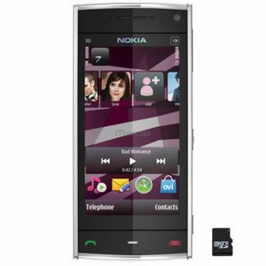 Мобильный телефон X6 White 16Gb Nokia - фото 1