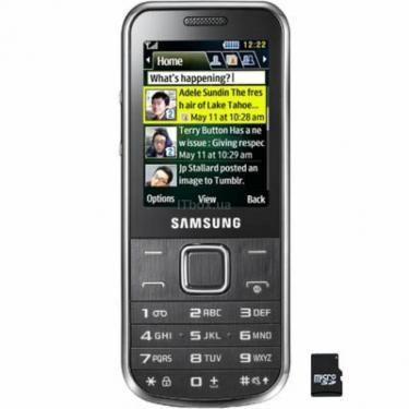 Мобільний телефон GT-C3530 Chrome Silver Samsung (GT-C3530HSA) - фото 1
