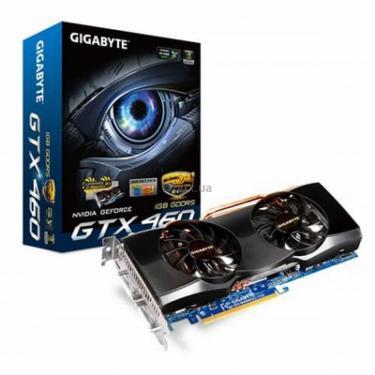 Видеокарта GeForce GTX460 1024Mb OverClock Gigabyte (GV-N460OC-1GI 2.0) - фото 1