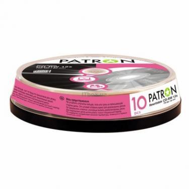 Диск CD Patron 700Mb 12x Cake box 10шт (INS-C009) - фото 1