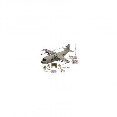 Игровой набор Chap Mei Солдаты 7 (транспортный самолет) Фото 1