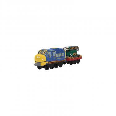Интерактивная игрушка Tomy Chuggington Брюстер с вагоном-экскаватором Фото 1