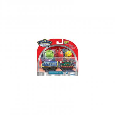Интерактивная игрушка Tomy Chuggington Брюстер с вагоном-экскаватором Фото