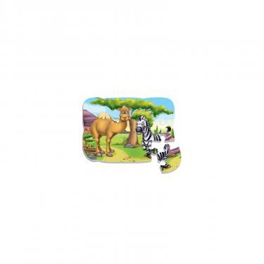Пазл Vladi Toys Верблюд и зебра Фото 1