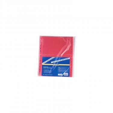 Файл BUROMAX А4, 40мкм, PROFESSIONAL, 100шт, red (BM.3810-05) - фото 2