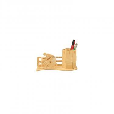 Сборная модель Мир деревянных игрушек Велосипедист Фото 1